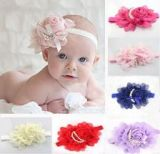 New Born Headband with Pearl Beads 6 pcs (Multi-Color)