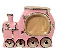 Pink Baby Girls Choo Choo Train Picture