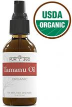Pur360 Tamanu Oil for Psoriasis, Eczema, Acne Scar and Nail Fungus (30 ML)
