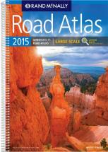 Rand Mcnally 2015 Road Atlas Updated Maps of USA