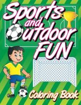Kids coloring book Sports and Outdoor Fun Volume 12