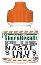 TheraBreath Plus Nasal Sinus Drops with OXYD 8 (15ml)