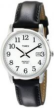 Timex Men's Watch with Black Leather Strap