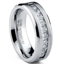 Titanium Men s Weddi…
