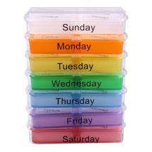 Weekly Medicine Pill…