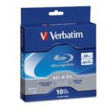 Verbatim Blu Ray Disc BD-R DL 50GB 6X to Store Video Audio File