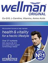 Vitabiotics Wellman for health & Vital