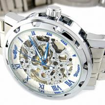 YouYouPifa Skeleton Dial Mechanical Watch