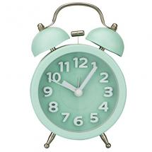 PILIFE Table Alarm Clock(3D Mint Green)