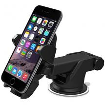 iOttie Easy One Touch 2 Car Mount Holder for iPhone 6 , Samsung Galaxy S5/S4/S3/Note 4/3, Google Nexus 5/4, LG G3 - Retail Packaging - Black