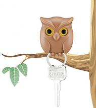 Night Owl Wall Key Holder with Powerful Magnets Keep Key