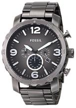 Smoke Stainless Steel Fossil Men's Watch