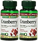 Nature's Bounty Cranberry Fruit 4200 mg, Pl…